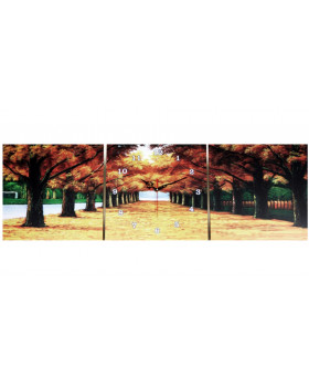 Картина-часы настенные «Осень»