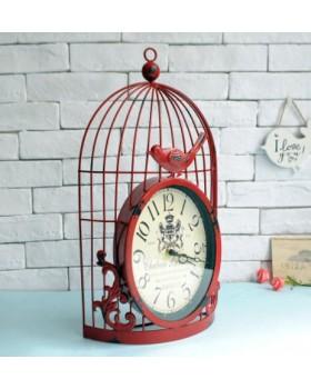 Настенные часы «Птичка в клетке-3»