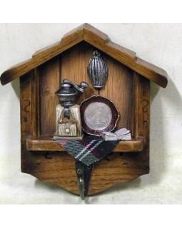 Вешалка на 1 крючок «Кухня-2» 13*14*4 см