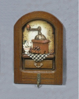 Вешалка на 1 крючок «Кухня-1» 15*10*3 см