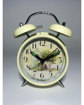 Настольные часы «Harli lavanda» с будильником