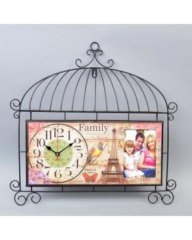 Часы настенные с фоторамкой «Family»