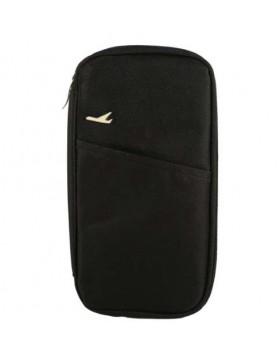 Многофункциональный бумажник Travel black