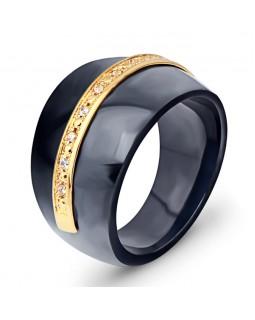 Кольцо керамическое «Bionizi» черное