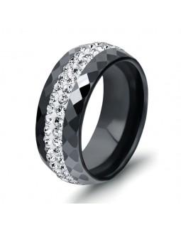 Кольцо керамическое «BlackStar» черное