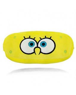 Кошелек многофункциональный плюшевый Sponge Bob