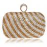 Вечерняя сумка Crystal gold ang silver