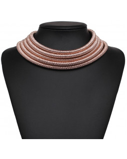 Эксклюзивное ожерелье by BerkaniStyle roze gold