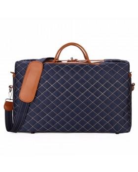 Мужская сумка стеганая Blue S