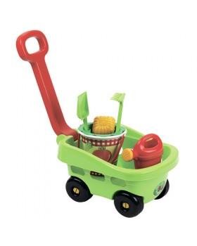 Игровой набор тележка садовника с аксессуарами