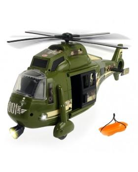 Вертолет интерактивный «Военный»функциональный