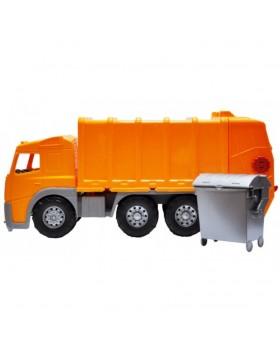 Машинка «Мусоровоз»с баком 58 см
