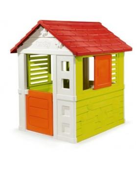 Дом «Дачный»с раздвижными ставнями