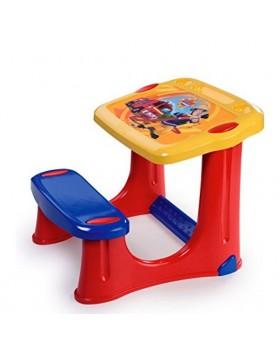 Детская парта со скамейкой «Пожарный Сэм»