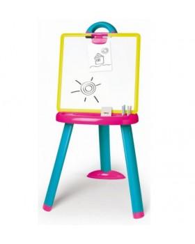 Двухсторонний Мольберт со съемной доской pink-blue