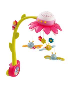 Мобиль на детскую кроватку с проектором Cotoons Цветок