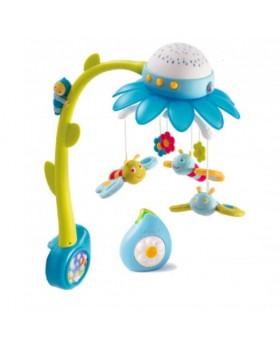 Мобиль с проектором Cotoons Цветок Blue на детскую кроватку