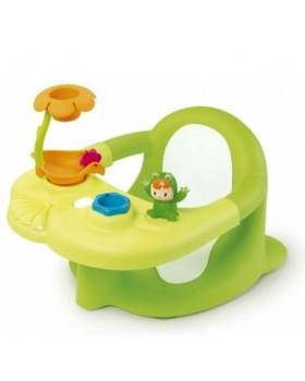 Стульчик для ванны «Cotoons Жабка Салатовый»с игровой панелью