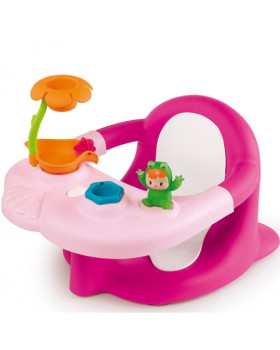 Стульчик для ванны «Cotoons Жабка Розовый»с игровой панелью