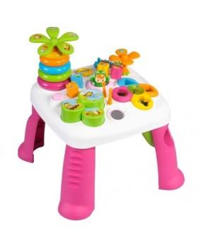 Развивающий игровой столик «Цветочек Cotoons Pink»