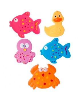 Коврики mini из 5 штук «Цветной океан»
