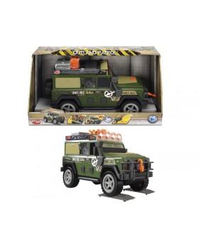 Функциональное военное авто «Патрульный внедорожник» со звук. и свет. эффектами, 34 см