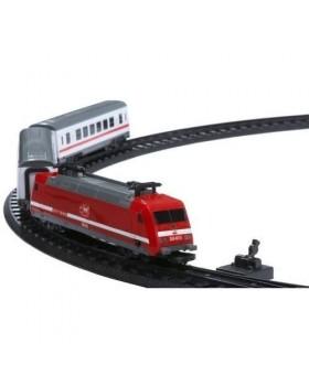 Железнодорожный путь с поездом, 21 см