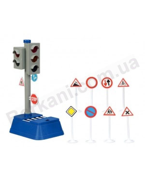 Игровой набор Светофор и дорожные знаки