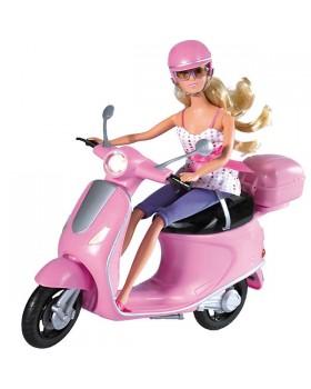 Кукольный набор Штеффи и скутер