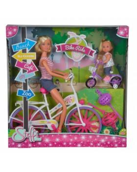 Кукольный набор Прогулка на велосипедах Штеффи и Эви