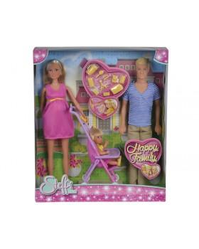 Кукольный набор Счастливая семья Штеффи