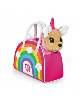 Собачка Чихуахуа Единорожка в платье и сумка