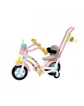 Велосипед для куклы пупса Baby Born Zapf Creation