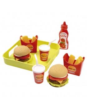 Набор продуктов «Гамбургер с подносом»
