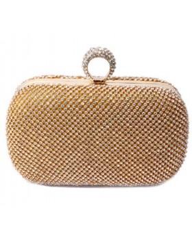 Вечерняя сумка Crystal gold
