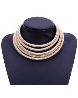 Эксклюзивное ожерелье by BerkaniStyle gold