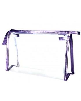 Прозрачная косметичка Fell purple