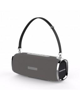 Мощная портативная bluetooth колонка Sound System A6 Gray