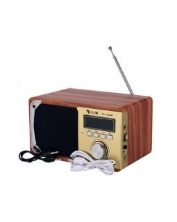 Портативная музыкальная радио колонка RX-1822BT Gold