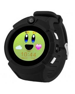Детские умные часы Q610 Black с GPS трекером
