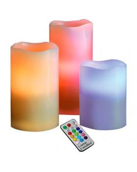 Набор светодиодных свечей с пультом 12 Colors