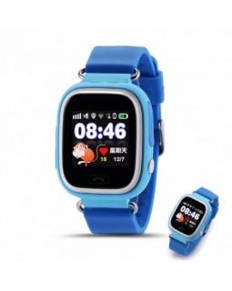Детские телефон-часы с GPS трекером Q90 Blue
