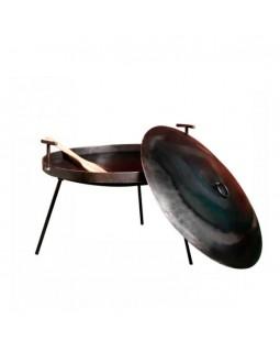 Мангал-сковорода с крышкой и чехлом 50 см
