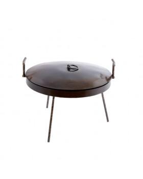 Мангал-сковорода с крышкой и чехлом 40 см