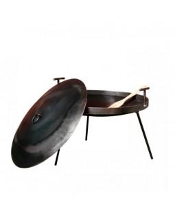 Мангал-сковорода с крышкой и чехлом 30 см