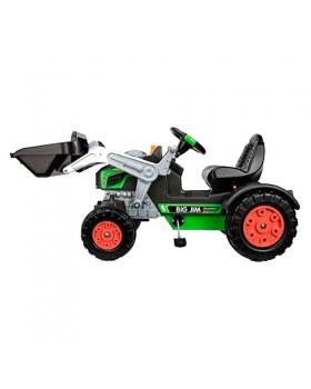 Детский трактор с ковшом педальный