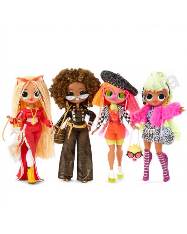 Игровой набор с куклой L.O.L. Surprise O.M.G. Леди Royal Bee Fashion с аксессуарами Королева Пчел ЛОЛ