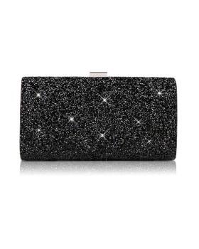 Вечерняя сумочка клатч Black Diva