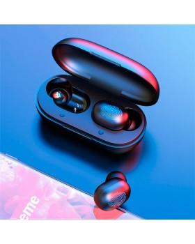 Беспроводные наушники сенсорные GT1 Stereo Touch Control с микрофоном Bluetooth Black