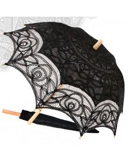 Зонт декоративный Vintage Azaliya Black